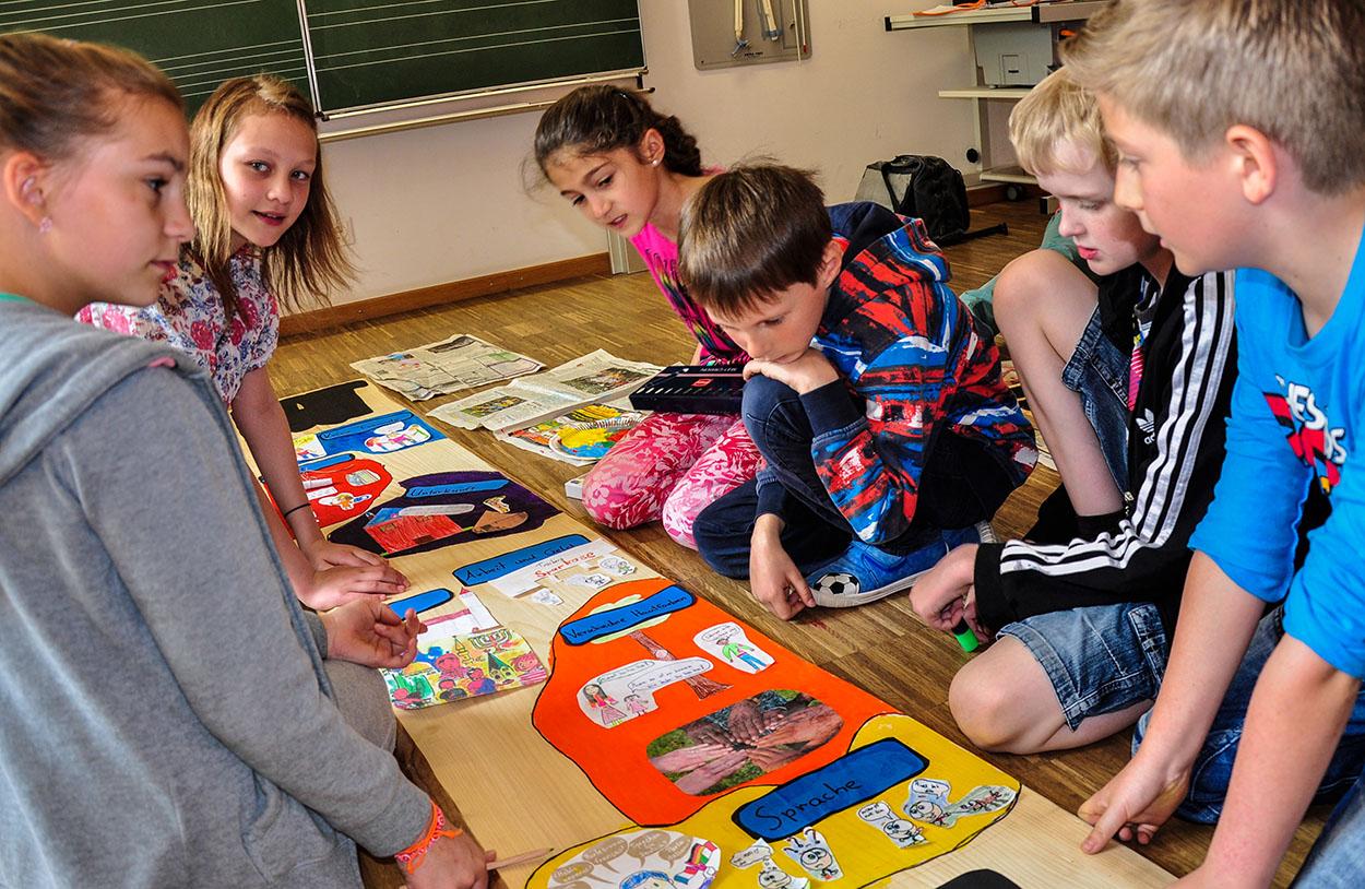 Kunstmeile-Trostberg-Schülerprojekt-Grundschule