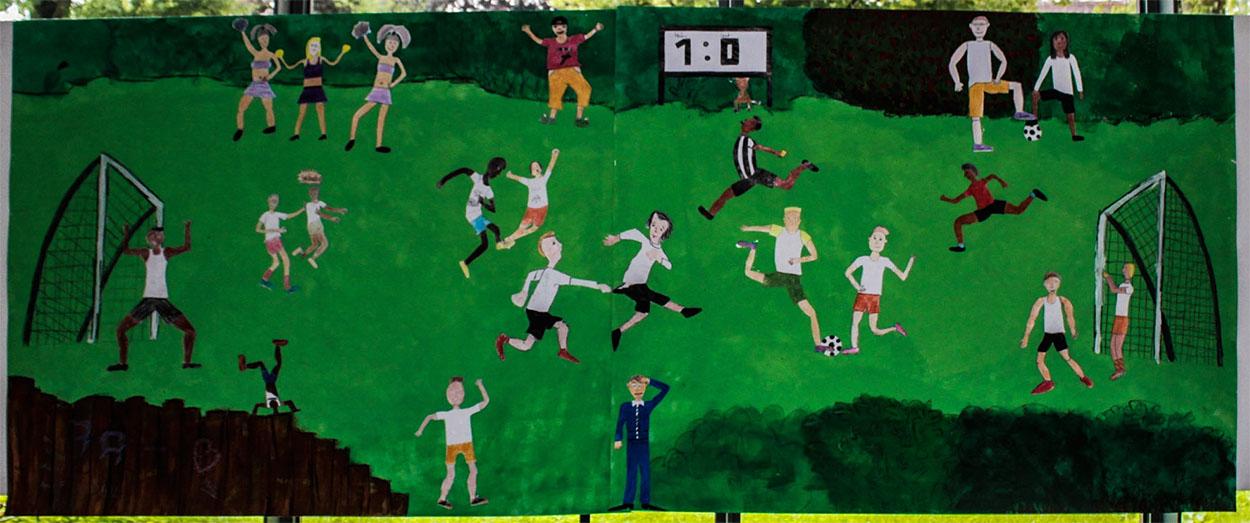 Kunstmeile Schülerprojekt Realschule2