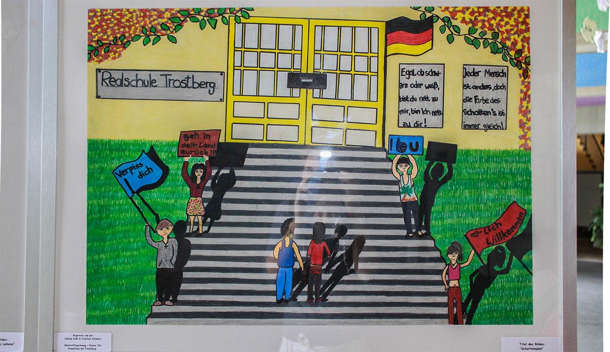 Kunstmeile Schülerprojekt Realschule3