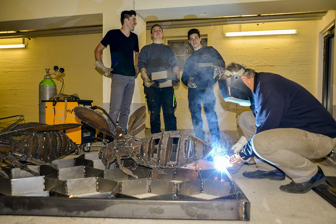 Werner Pink, Raphael Riml, Peter Aicher und Jonas Stadlberger.