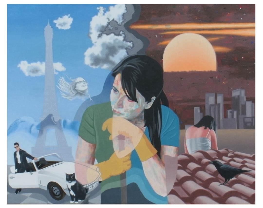 "Hans Sagmeister, Samerberg: ""Ballad of Lucy Jordan"""
