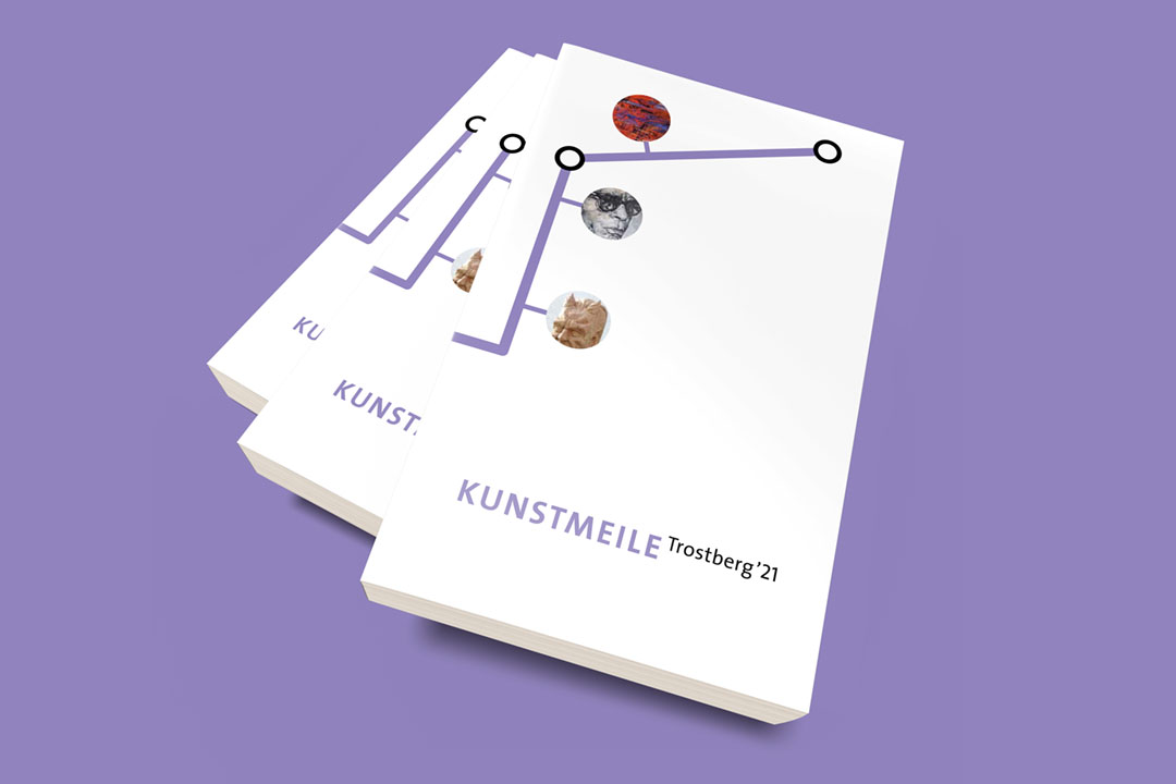 Katalog zur Kunstmeile Trostberg '21