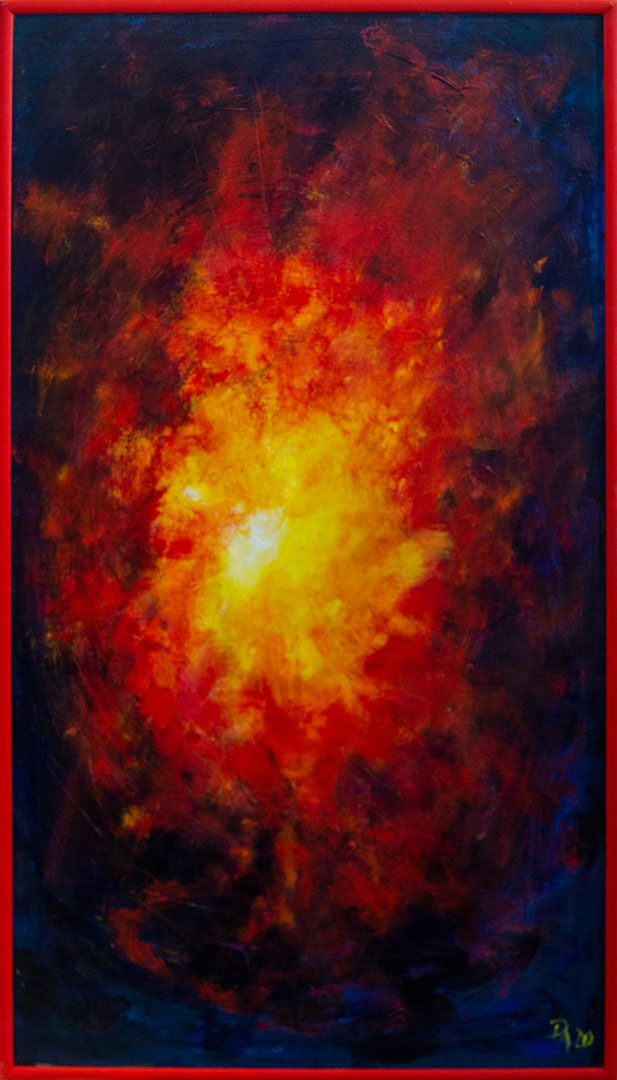 Peter Amler: Ursache |Acryl auf Leinwand140 x 80 cm690,00 €
