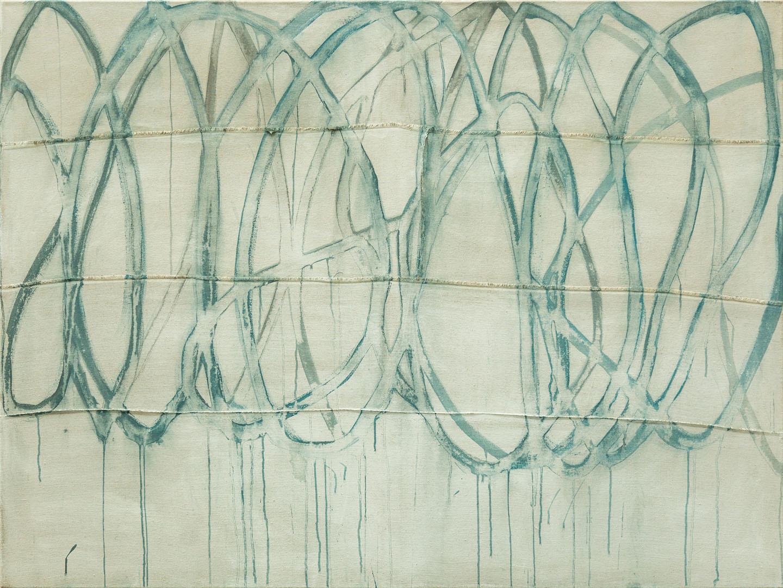 Isa Jungblut Isa: Lines | Acryl auf Leinwand; 120 x 160 cm; 2.000,00 €; 1964 geboren in Neuwied/Rhein; Studium Gemälderestaurierung in Florenz; lebt seit 2000 in Bayern