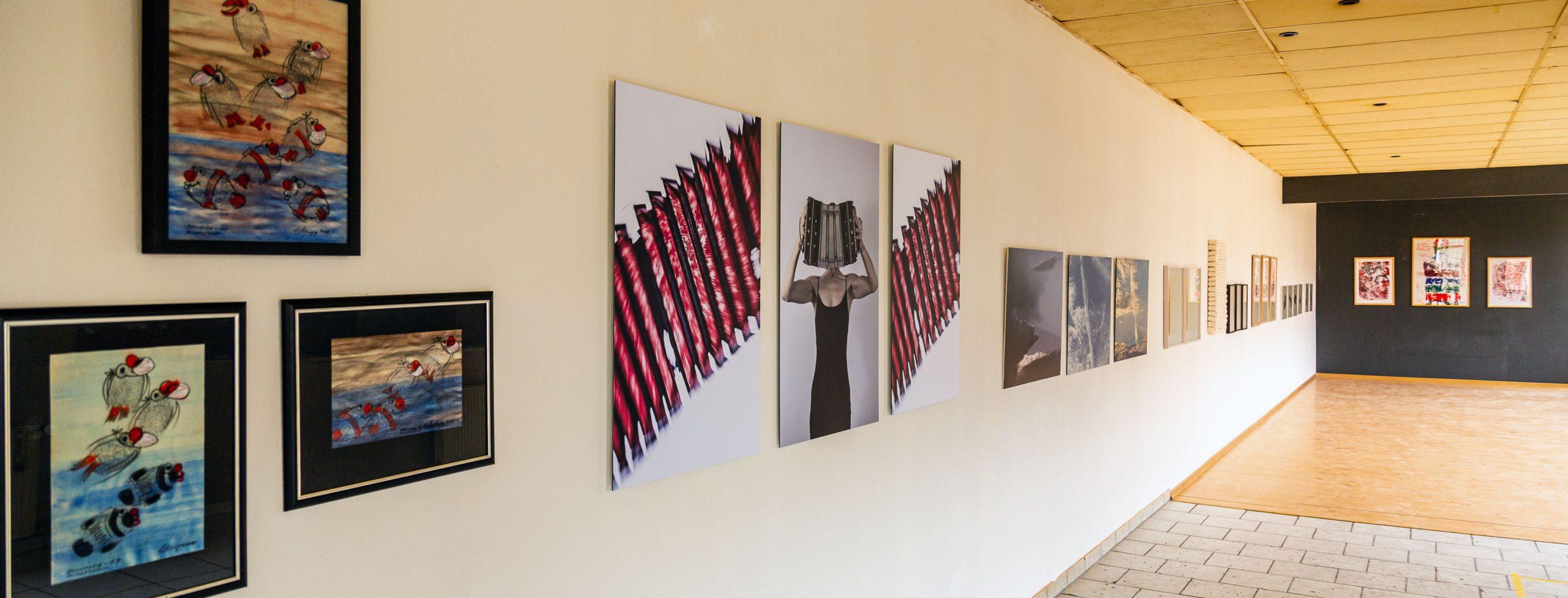 Kunstmeile Trostberg 21: Ausstellungsraum Grafikzentrum im Stadtkino